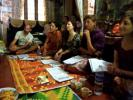 Abhinaya class in Madhu and Indu´s house